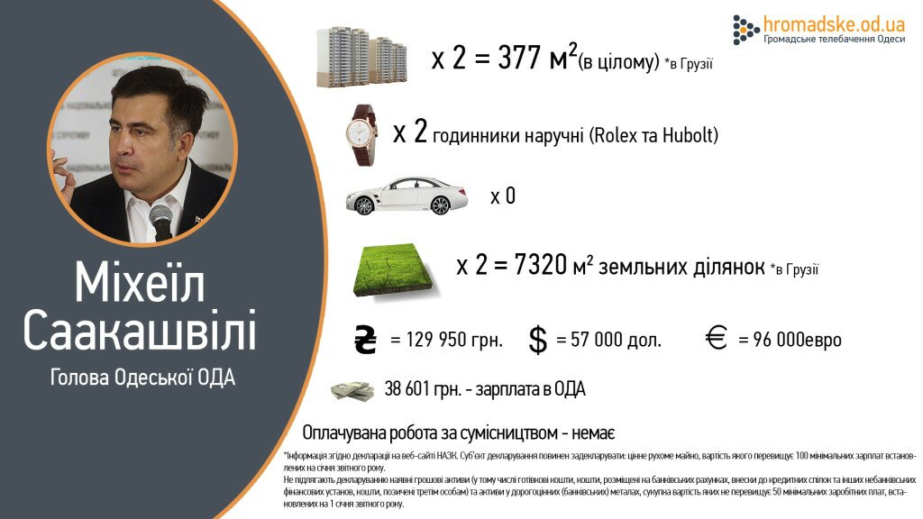 Саакашвили декларация